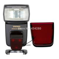 yn flash al por mayor-Nueva venta completa Original YONGNUO flash Speedlite reparación de plástico rojo vidrio AF para YN568EX YN568EXII YN-568EX YN-568EXII