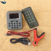 amplifier voice speaker Canada - Outdoor Hunting Decoy 200 Bird Sound Louspeaker Amplifier Bird Caller Mp3 Player Mp3 Bird Caller Hunting With Remote Control