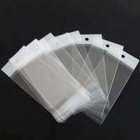 Wholesale Clear Necklace Bags - 1000pcs lot Clear Plastic Bags Self Adhesive Seal Jewelry Necklace Beads Earrings Rings Bag Gift Package Opp Bag