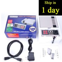 Wholesale Video Player Hdmi - Coolbaby NES MINI Hdmi HD Video Game Console With 500 600 Games Video Game Player Handheld Game Consoles Entertainment System Hdmi Consoles
