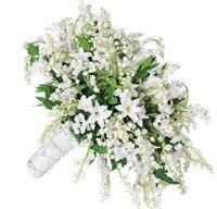 bouquets personnalisés achat en gros de-Le bouquet de mariage coréen personnalisé haut de gamme bouquet de mariée muguet de la vallée