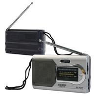 мир mp3 оптовых-Универсальный тонкий AM / FM мини-радио World Receiver стерео динамики MP3 музыкальный плеер