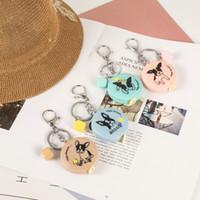брелок для ключей оптовых-Брелок рулетка размер одежды мера небольшой рулетка брелок портативный брелок свадьба пользу подарок милый творческий собака 1.5 м