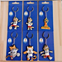 Wholesale Pendant Souvenir - new World Cup 2018 key ring jewelry keychain pins handbags key Car accessories pendant for fans Souvenir