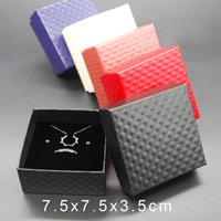 Wholesale ring display case sale for sale - Group buy New Jewelry Cases Display Cardboard Necklace Earrings Ring Bracelet Box Sets Packaging Cheap Sale Gift Box with Sponge