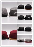 Wholesale Blank Panels Cap - Hot Diamond 5 Panel Hats Blank , Classic Flower Diamond Men's Snapback, women adjustable Diamond baseball caps , Embroidery Fitted Flat Hats