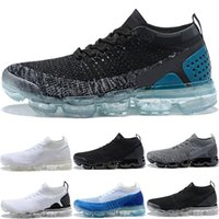 Wholesale woman s boots - 2018 Designer Vapormax 2.0 Running Shoes Men Women Triple s Black White Core Cream Shock Jogging Sports Athletic Sneakers size 36-45