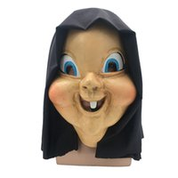 Wholesale terror mask face - Terror mask Latex headgear Hallowmas Funny props cosplay masquerade masks Christmas Easter mask terror party Role playing mask MK403