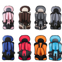 Wholesale kids chair car for sale - Group buy 2018 New T Baby Portable Car Safety Seat Kids Car Chairs Children boys and girls Car Seat Cover C4664