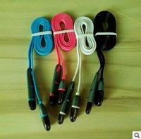 iphone ios kablosu toptan satış-Iphone Samsung Cep Telefonu Veri Kablosu 1M Android IOS USB Veri Hattı Kablosu USB Şarj Tel