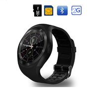 Wholesale reloj android camera for sale – best Bluetooth Y1 Smart Watch Reloj Relogio Android Smart Wristwatch Phone Call SIM TF Camera Sync Smart Bracelet For iOS Android Phone