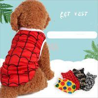 97ba8f1a8c88 Wholesale cartoon shirt dog online - Small Dog Summer Vest Pet T Shirt Cute Cartoon  Pet