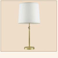 lampara china azul blanco al por mayor-FULOC Luz de la mesa Lámpara de mesa de cristal de estilo europeo para el dormitorio Sala de estar Decoración de lujo Lámpara de escritorio Mesita de noche Iluminación