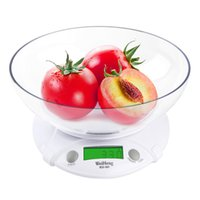 Wholesale kitchen digital electronic scales for sale - Group buy New Digital LCD Electronic Scale Kg g With Food Disk for Kitchen for Laboratories Multipurpose