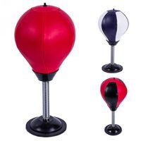 ingrosso palla per il fitness-2018 Adulti Bambini Nuovo Desktop mini Punch Sport Fitness Punching Bag Speed Balls Vent palla Stand Boxing Home Esercizi F
