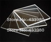L/ámina de pl/ástico acr/ílico de polimetilmetacrilato transparente de 5 mm 300mm x 300mm transparente