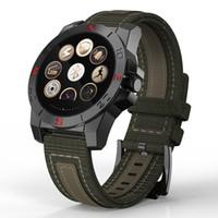 mens silikon dijital saat toptan satış-Relogio Masculino Erkek silikon Spor Akıllı İzle Kalp atış hızı monitörü LED Dijital Bilek wach açık tırmanma Saat kutusunu saatler