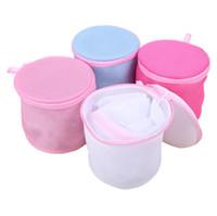 bolsas de malla de lavandería al por mayor-1 Unids 15 * 16 cm Ropa Lavadora Lavandería Bolsas Sujetador Calcetines Camisa Calcetín Lencería Saver Mesh Net Wash Bag Bolsa Cesta