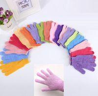 Wholesale Gloves For Sale - New hot sale Polyester bath glove Wuzhi Cuozao bath gloves Massage glove for sauna Bathroom gloves T4H0275