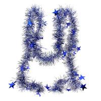 terrain à vendre achat en gros de-Merveille Terre-Chaude Vente Arbre De Noël Suspendu Décoration Maison Partie Longue Étoile Pin Guirlande Ornements 2 M