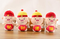 Wholesale toys companies resale online - 2019 mascot doll cute Fu pig plush toy doll company gifts can be customized hot sale new high quality hot sell
