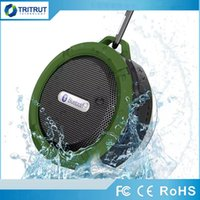 Wholesale C6 Speaker wireless Bluetooth Speaker Potable Audio Player Waterproof Speaker Hook And Suction Cup Stereo Music Player MQ20