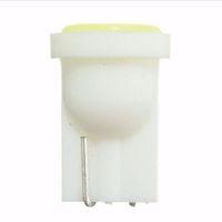 светодиодная керамическая лампа оптовых-Керамический Салон Автомобиля LED T10 COB W5W 168 Клин Дверь Боковая Лампа Лампы Лампы Автомобиля Свет Лампа Белый / Синий / Зеленый / Красный / Желтый