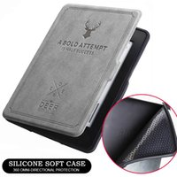Wholesale kindle paperwhite leather cover case resale online - Kindle Paperwhite Case Auto Sleep Wake Ultrathin Protective Leather Cover All inclusive Tablet Retro Leather Case for All New Amazon