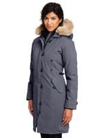 ingrosso indossa le donne s per l'inverno-Personalità del commercio all'ingrosso ispessimento del progettista delle donne di inverno del collare cappotti dei capelli di modo della decorazione del cappotto di media lunghezza Womens Coats con pelliccia