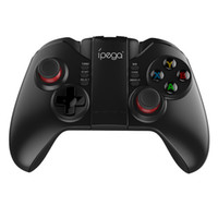 Wholesale ipega joystick games - Ipega 9068 Game Handle Joystick Universal Wireless Bluetooth Handle Joystick Gamepads for iPhone 6 7 Android Phone Computer PC