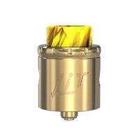 luz rda venda por atacado-VandyVape Lit RDA Tanque Parafuso para Mudar o Tipo de Fluxo de Ar Sistema de Fluxo de Ar Multifuncional base para 3 Maneiras de Construção Bobinas Cabeça dhl livre