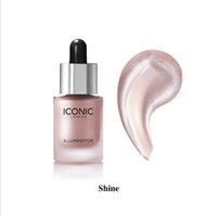 Wholesale make up mix - In stock Iconic London Illuminator Liquid Highlighter In Shine Original Shine Glow Three Color Face Make up Highlighter 3 Color 13.5ML