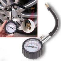 ingrosso sistemi di pressione atmosferica-Tubo lungo Auto Auto Motor Bike Tire Air Pressure Gauge Meter Tire Pressure Gauge 0-100 PSI Meter Vehicle Tester Sistema di monitoraggio