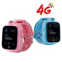 çocuklar için anti kayıp alarmları toptan satış-Çocuk SOS 4G Akıllı İzle GPS Bulucu Anti Kayıp GSM Alarmı Akıllı İzle GPS LBS WIFI Iki Yönlü Çocuklar Dönebilen Kamera Q400