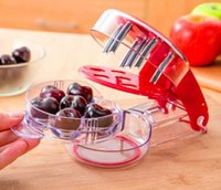 Wholesale fruit seeds sale resale online - Cherry Olive Pits Seed Stone Remover Cherries Fast Enucleate Removal Bone Kitchen Gadget Fruit Tool Accessories Hot Sale om