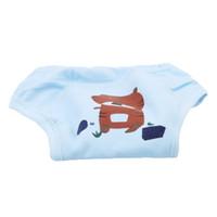 diaper cover panties wholesale UK - 1pc Washable Baby Training Panties Baby Cloth Diaper Cover Cartoon Diapers Reusable Cloth Nappy elastic