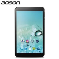 Wholesale tablet aoson online - hot Aoson Android Tablets inch Quad Core Dual WIFI G G M815 IPS x800 GB GB HDMI GPS Bluetooth Tablet PC gift