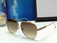 Wholesale Purple Wrap Top - Luxury 1206 Sunglasses For Men Brand Designer Fashion Oval Summer Style Popular Sunglasses Top Quality UV Protection Lens Come With Package
