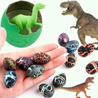 Wholesale kid water toys for sale - 2 cm Magic Hatching Growing Dinosaur Fun Toy Add Water Grow Dino Egg Children Kid Fun Funny Action Figure Toy Novelty Items CCA10542