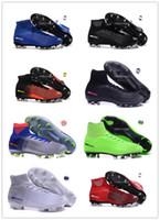 ingrosso cr7 giovani scarpe da calcio al coperto-2018 cr7 tacchetti da calcio per bambini indoor ronaldo scarpe da calcio ragazzi mercurial superfly SX Neymar TF IC mens scarpe da calcio giovanile botas de futbol