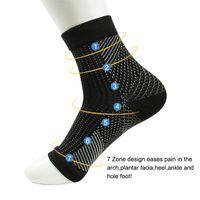 Wholesale nylon compression socks for sale - Group buy Comfort Foot Anti Fatigue women Compression socks Sleeve Elastic Men s Socks Women Relieve Swell Ankle sokken