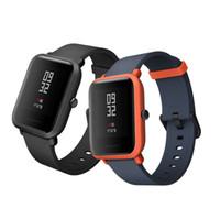 Wholesale Wearable Lights - Global Version Xiaomi Amazfit Smart Watch Youth Edition Bip BIT PACE Lite ultra-light 1.28 Screen Waterproof GPS Four Colors