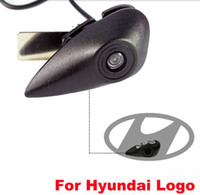 Wholesale vision hyundai - Atuo Parking System Vehicle Logo Mark HD 520L CCD Color Car Front View Camera Special for Hyundai Series Night Vision 3sizes