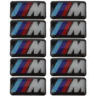 Wholesale vehicle emblems for sale - Group buy Car Vehicle Wheel Badge M Sport D Emblem Sticker Decals Logo For bmw M Series M1 M3 M5 M6 X1 X3 X5 X6 E34 E36 E6 Car Styling Stickers