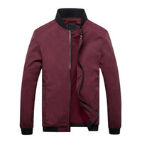 Wholesale slim fit clothing brands for men for sale - Casual Jackets Spring Winter Coat Men Sportswear Motorcycle Mens Thin Slim Fit Bomber Jackets for Male Brand Clothing
