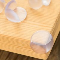 Wholesale baby safety edge for sale - Baby Safety Desk Corner Protection Transparent Home Table Edge Cushion Guard Kids Protector Arc PVC NNA396