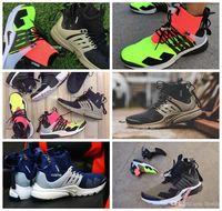 san francisco 92567 88270 2018 Famosa ACRONYM® x Lab Air Presto metà scarpe da corsa per uomo, moda  bianco nero caldo Lava Presto scarpe Sport scarpe da ginnastica Eur 40-45