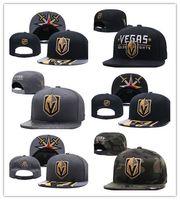 Wholesale hockey team hats - Wholesale New Caps Vegas Golden Knights Hockey Snapback Hats Black Color Cap Gold Black Gray Visor Team Hats Mix Match Order All Caps