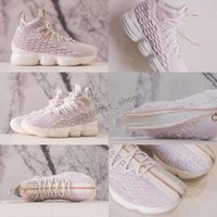 Wholesale Long Tassel Boots - KITH x James 15 Rose Pink 15s Mens Basketball Shoes Long Live the K Sneakers Boots US 7-12