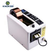 verpackungsklebebänder großhandel-Knokoo Automatische Verpackung Klebebandspender M1000 Elektrische Bandschneidemaschine für 7 ~ 50mm Breite Band
